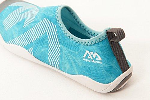 AQUA MARINA Aqua Shoes Badeschuhe Surfschuhe Wasserschuhe Neoprenschuhe Neopren blue