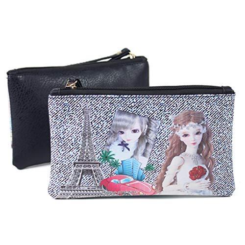 Pattern Purse Key Women Storage F EUzeo Bag Artistic PhoneCoin URZEWcyxz