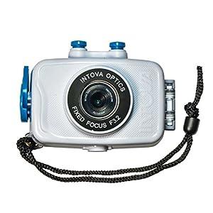 Intova Duo Waterproof HD POV Sports Video Camera, White