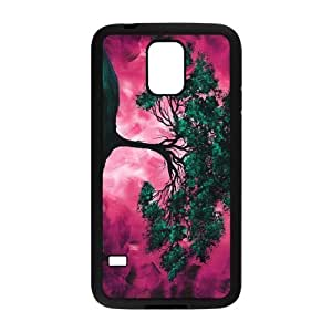 Perfect as Christmas gift-Love Christmas Tree A Tree With 2 Color case Hard Plastic PC Protective Cover case Accessories for Samsung Galaxy S5 Case-04