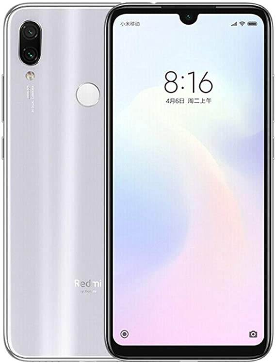 Xiaomi Redmi Note 7 Dual SIM 128GB 4GB RAM White: Xiaomi: Amazon ...