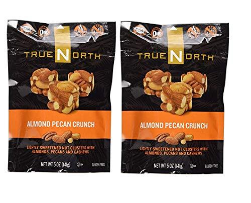 True North Almond Pecan Crunch Nut Clusters | 5 oz Per Bag | 2 Pack