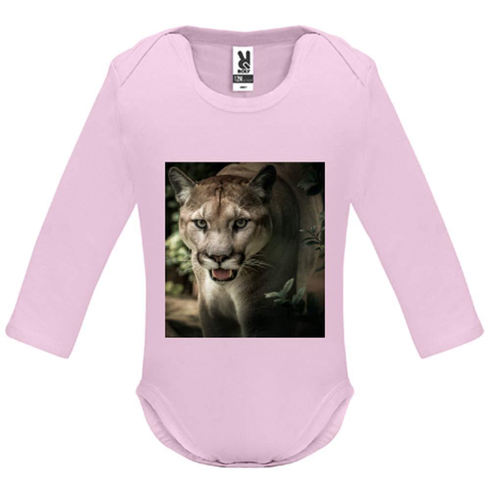 a230bdc7b1f84 Body bébé - Manche Longue - Puma - Bébé Fille - Rose - 9MOIS