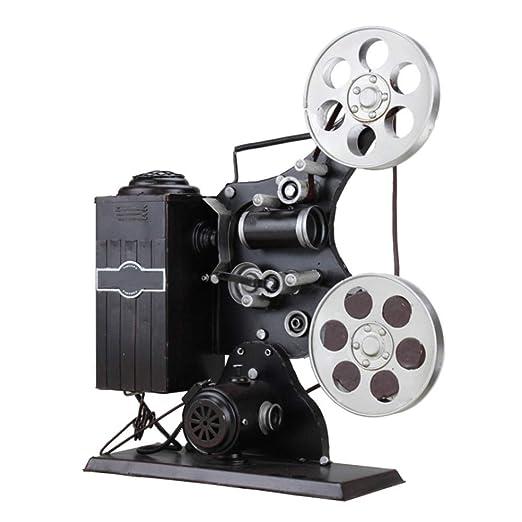 NAZIL Hoja De Hierro Retro Artesanía Antigua Proyector De Cine ...