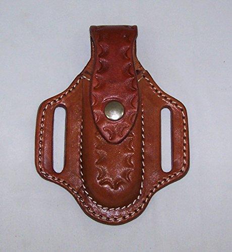 SNAP Knife Holder TAN Pancake Sheath for the Buck #110 Folding Hunting Knife