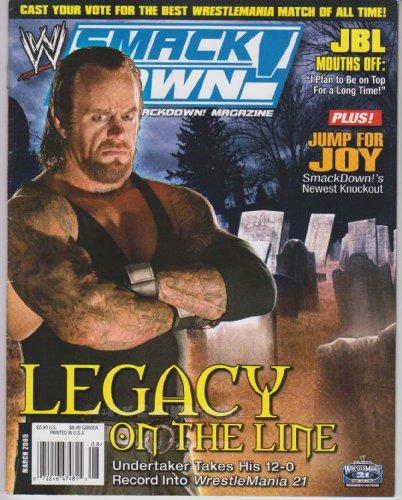 WWE Smackdown Magazine March 2005 ()