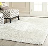 Cheap Safavieh South Beach Collection SBS562A Handmade Snow White Polyester Area Rug (10′ x 14′)