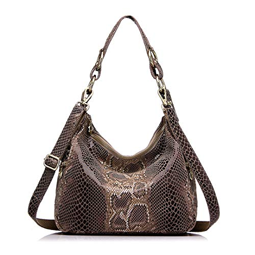 Shoulder Classic Khaki Crossbody Shoulder Bag Dark Print Snake Women's Snake Crossbody Classic Dark Bag Women's Print AZPUqEU