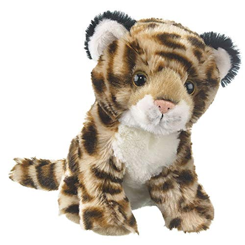 Wildlife Tree 8 Inch Jaguar Cub Small Floppy Zoo Stuffed Animals Conservation Collection (Jaguars Snuggie)