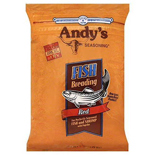 Andys Red Fish Breading 5.0 LB(Pack of 2) by Andy's