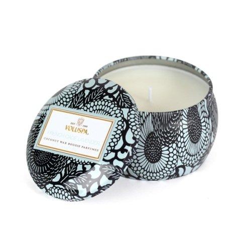 Voluspa French Cade & Lavender Decorative Tin Candle 3.5 oz