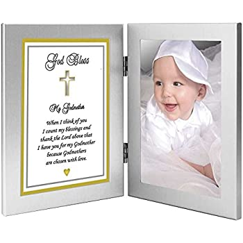 godmother gift from godchild to my godmother sweet poem in double frame add photo