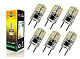 Best to Buy® 6-pack LED-G8-SHORT-120V Replacement LED Light Bulb