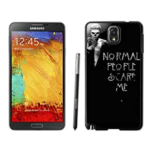 WOSN American Horror Story (3) Black Case Cover for Samsung Galaxy Note3