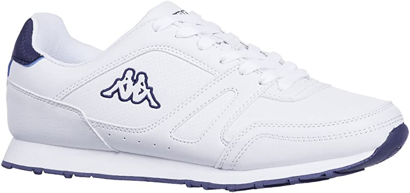 ZAPATILLAS KAPPA - 303LCB0-WHITE--NAVY-T-42: Amazon.es: Zapatos y complementos