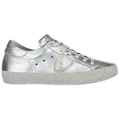P Piel En Philippe Paris Zapatillas Glitter Mujer Deporte Model De Zapatos ZSnOZq1