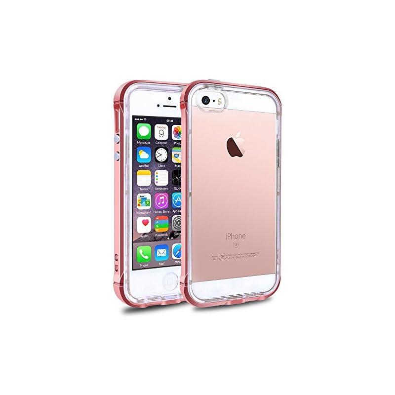 iPhone SE 5S 5 Clear Phone Case Cover, L