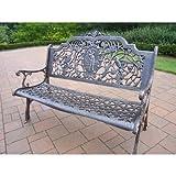 Best Oakland Living Ab Benches - Oakland Living Golfer Cast Aluminum Bench, Antique Bronze Review