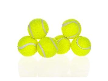 Wangshihao Juguete De Perro Tenis Máquina De Tenis Pelota Hinchable (6 Piezas): Amazon.es: Hogar