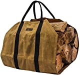 Readywares Waxed Canvas Firewood Log Carrier Review