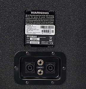 Yamaha CM12V 2-Way Monitor Loudspeaker by Yamaha PAC