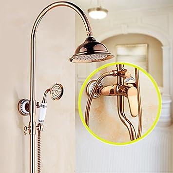 galvanoplástica Retro Grifo baño ducha Licuadora grifo en la pared ...
