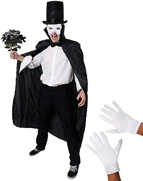 I LOVE FANCY DRESS LTD Disfraz DE Fantasma DE LA Opera para ...