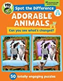 Spot the Difference: Adorable Animals!: 50 Totally Engaging Puzzles!