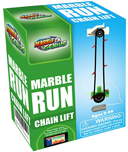 Marble Genius Automatic Chain Lift - Marble Run Accessory Add-On Set