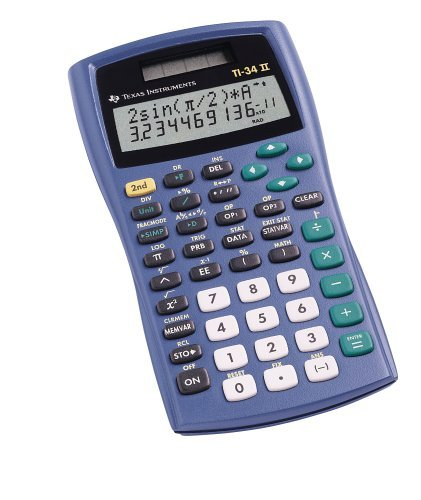 Texas Instruments TI-34 II Calculator (Renewed)