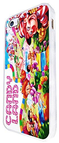 116 - Cartoon Kids Candy Land Design iphone SE - 2016 Coque Fashion Trend Case Coque Protection Cover plastique et métal - Blanc
