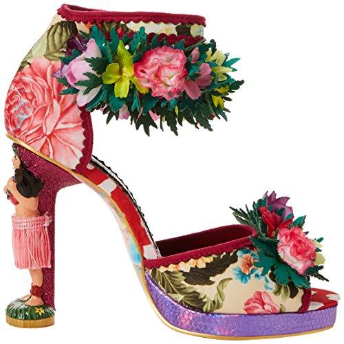 B Bride Hono Cheville Femme Multi Sandales Rose Pink Choice Lulu Irregular qvw4IH7