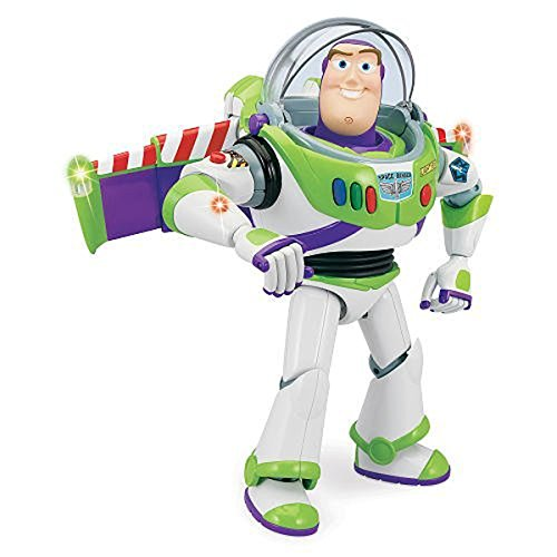 12 Talking Action Figure (Disney Toy Story Advanced Talking Buzz Lightyear Action Figure 12'')