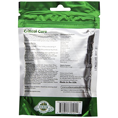 Oxbow-Critical-Care-AppleBanana-Pet-Supplement-141gm