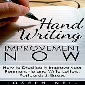 Handwriting Improvement Now Audiobook