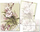 Pink Carnations - Stationery Gift Set (20 sheets and 12 envelopes)