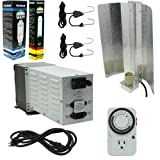 ViaVolt Lighting System (600 Watt HID Hard Core Grow Light MH/HPS System with Wing Reflector) Review