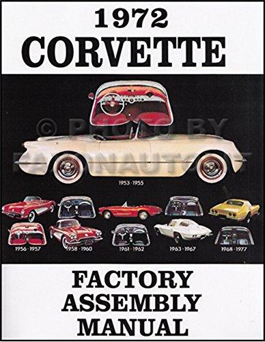 1972 Corvette Factory Assembly (Assembly Manual)