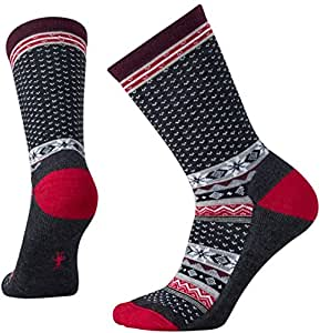 Smartwool Women's Cozy Cabin Crew Socks (Charcoal Heather) Small