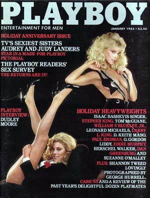 Amazon.com : 1983 Audrey & Judy Landers/Shannon Tweed Playboy magazine :  Other Products : Everything Else