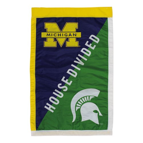 NCAA Vertical Flag NCAA Team: Michigan State - House Divided State House Divided