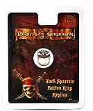 Master Replicas - Pirates Des Caraibes - Bijoux - Bague Button Jack Sparrow