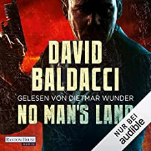 No Man's Land: Puller 4 Audiobook by David Baldacci Narrated by Dietmar Wunder