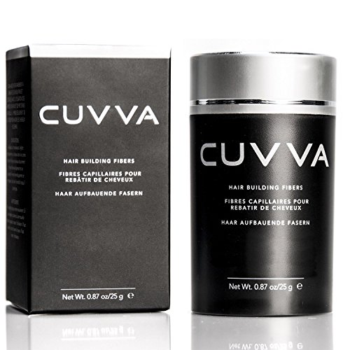 CUVVA Hair Fibers - Hair Building Fibers to Conceal Thinning Hair