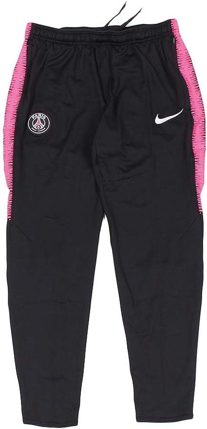 Nike Paris Saint Germain Squad Bas Homme, BlackHyper Pink
