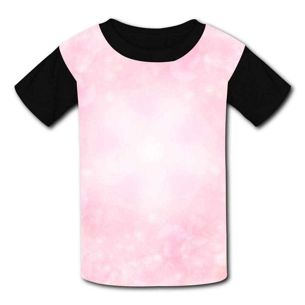 Starry Sky Childrens Summer Short Sleeve Printing T-Shirts