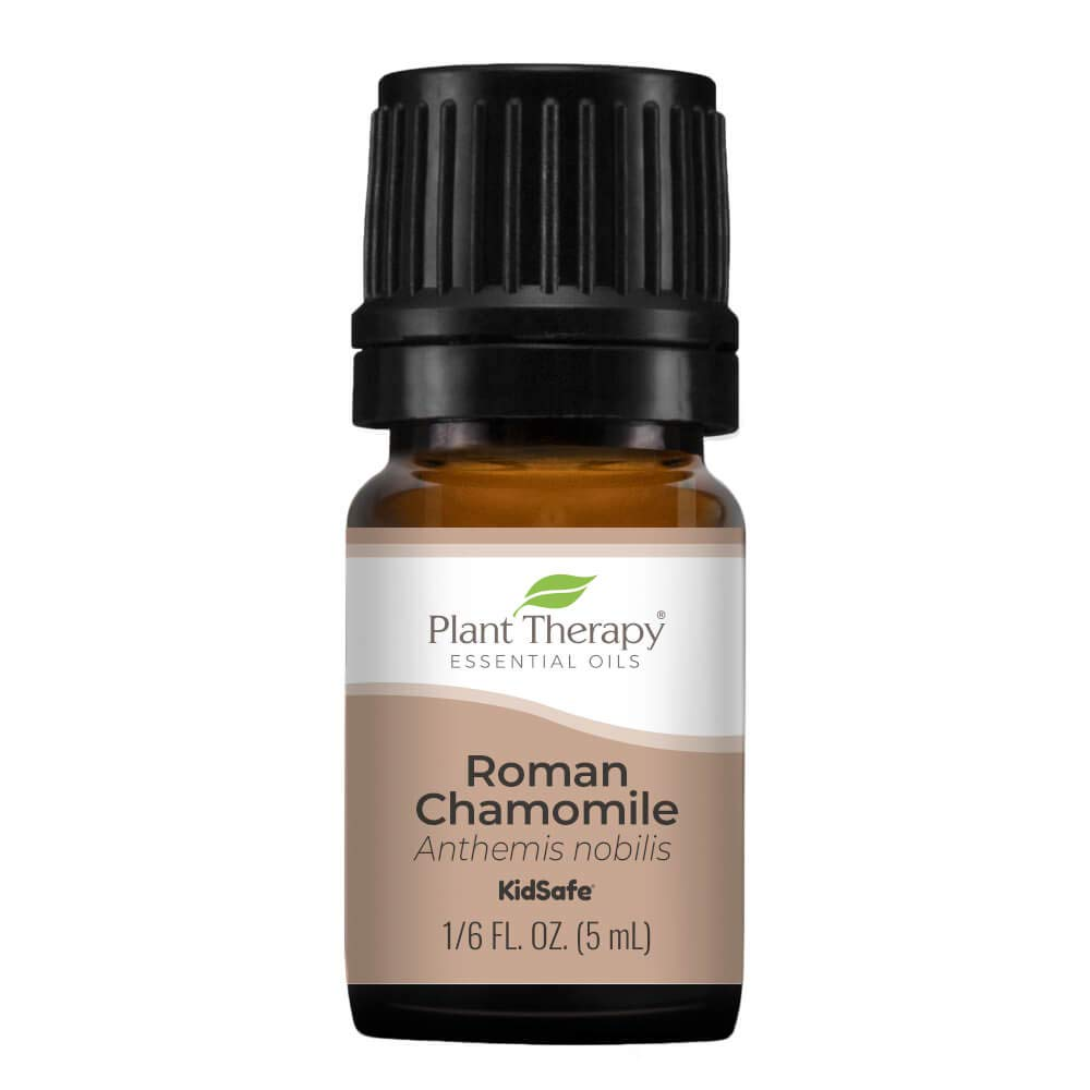 Plant Therapy Roman Chamomile Essential Oil 100% Pure, Undiluted, Natural Aromatherapy, Therapeutic Grade 5 mL (1/6 oz)