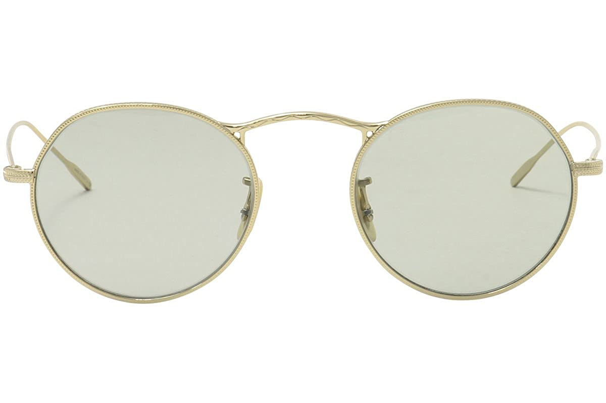5dd48a1f8159 Amazon.com  Oliver Peoples M-4 30th OV1220S OV 1220S 526452 18k Gold Plated  Sunglasses 47mm  Clothing