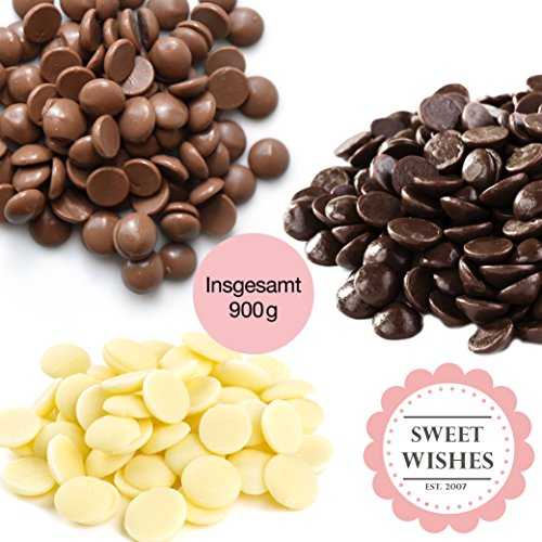 Mix de chocolate con leche, negro y blanco para fuentes de chocolate. 10 sobres embalados individualmente.: Amazon.es: Hogar