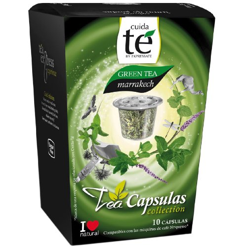 Amazon.com : Cuida Te, Tea Mixture, 4 different Teas, Capsules, Nespresso compatible, 4 x 10 Capsules : Grocery & Gourmet Food